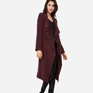 Belted soft trench coat